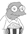 simpson popcorn